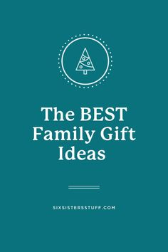 The BEST Family Gift Ideas Best Family Gifts, Best Gifts, All Things Christmas, Christmas Gifts, Christmas Ideas, The Floor Is Lava, Six Sisters, Things That Bounce, Good Things