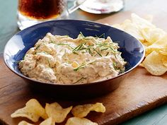Fried Onion Dip recipe from Amy Thielen via Food Network