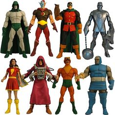 DC Universe Classics Wave 12 Revision 1 Figures  145 bucks but I love the girl Flash!!