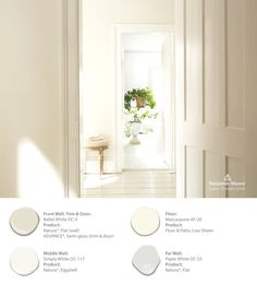 If you're looking for a paint color that is transcendent, timeless, and versatile for your home & style, choose Benjamin Moore's Color of the Year 2016 Simply White OC-117. Turn down the noise and celebrate the simplicity of white. #ColorTrends2016