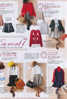 japanese fashion~ I like how you can mix and match a lot of this kind of style ^_^