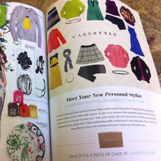Full-page CakeStyle Ad in 7x7 Magazine!