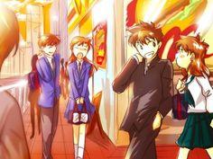 Shinichi x Ran and Kaito x Aoko :D