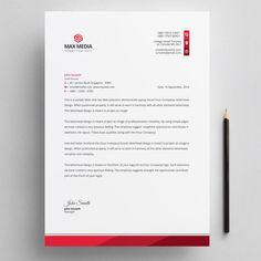 Discover thousands of Premium vectors available in AI and EPS formats Free Letterhead Design, Letterhead Design Inspiration, Company Letterhead Template, Letterhead Business, Invoice Design, Corporate Business, Business Letter Head, Business Letter Layout, Business Letter Template