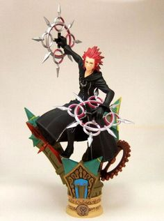 Disney Kingdom Hearts Formation Arts vol.3 Axel Figure [RARE] #SQUAREENIX