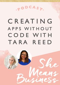 Creating apps without Code with Tara Reed - Female Entrepreneur Association How To Make App, How To Create Apps, Create Your Own App, Computer Coding, Computer Science, Journal App, Tara Reed, Build An App, App Development