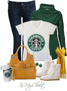 Starbuck Shirt! Yes please. Too Cute!