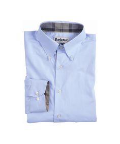 Barbour Mens Southfields Shirt - Sky