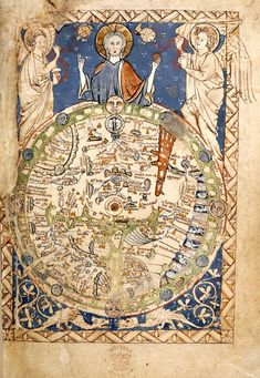 Timelines: Sources from History :British Library Medieval world map