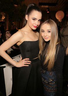Sofia Carson and Sabrina Carpenter