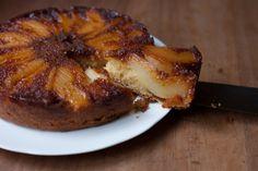 Pear & Caramel Pudding Cake via Poires au Chocolat