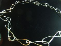 Chunky handmade silver chain. $120.00, via Etsy.