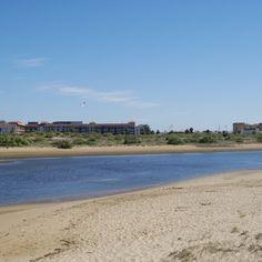 Playa del Parque Litoral en Isla Cristina (Huelva)