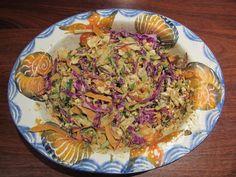 Raw Pad Thai || cleaninthekitchen.wordpress.com for recipe || https://cleaninthekitchen.wordpress.com/2013/05/29/crustless-vegetable-quiche-raw-pad-thai/ || #cleaneating #vegan # vegetarian # healthy #glutenfree