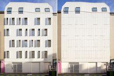 JTB. architecture, Ten social rented apartments, Saint-Denis, France. A five storey wooden structure
