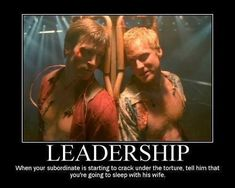 Captain Mal is a very fine leader. In his own very special way...