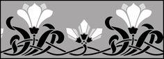 Click to see the actual DE215 - Border No 123 stencil design.