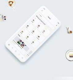 Ui Design Mobile, App Ui Design, User Interface Design, Minimal Graphic Design, Web Portfolio, Mobile App Ui, Ui Web, Coffee Lover Gifts, Concept