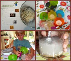 """how to separate mixtures, make """"alien soup"""""""
