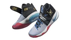 Nike Unveils the 2016 Doernbecher Freestyle Collection: All proceeds go to a great cause. Kyrie Sneakers, Sneakers Nike, Reebok, Nike 2016, Nba, Freestyle, Nike Kyrie, Childrens Hospital, Adidas