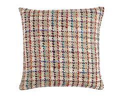 Cojín de seda, multicolor Boris - 45x45 cm