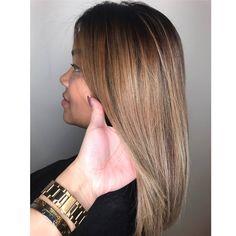 Brazilian Blow Out #salonedenofraleigh Follow her instagram @joemaryrodriguezhairstylist
