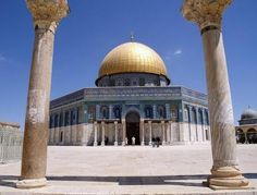 The Temple Mount is the location of both the First Temple built by King Solomon in the tenth century BCE, as well as the Second Temple built by the. Israel Tourism, Israel Travel, Vacation Trips, Dream Vacations, Jerusalem Travel, Dome Of The Rock, Temple Mount, World Religions, Countries Around The World