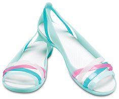 70324e887ac66 Women s Crocs Isabella Huarache II Flat