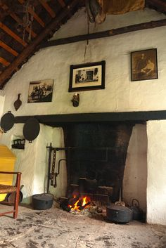 A Hearth in Ireland... (by Mary Hennessy)