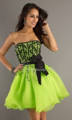 Neon Party Dresses For Juniors 13238 | RIMEDIA
