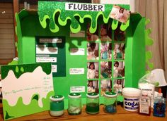 Slime science fair project.