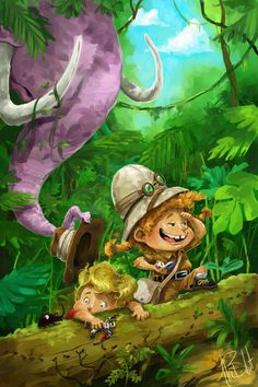 Search for the Pink Elephant by boldtman on DeviantArt Pink Elephant, Tinkerbell, Childrens Books, Illustrators, Disney Characters, Fictional Characters, The Outsiders, Character Design, Sketches
