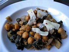 Balsamic Chickpeas and Spinach | Living Well Kitchen Cheap, easy, healthy