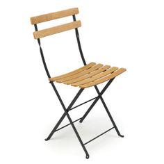 French Bistro Folding Chair - Perfect for the back deck!