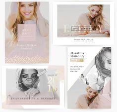 Less is More 5x7 WHCC Graduation by Oh Snap Boutique on @creativemarket