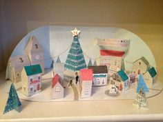 Wishing you all a fab Christmas!  Here's the final day of the build a town advent calendar - day 24