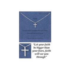 <p>This Beaitfuil Cross Necklace Would Make A Perfect Gift Anytime Of The Year!</p>