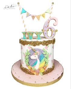Celebrate your unicorn party in style with this girly unicorn cake! Click the link below for more info on ordering your celebration cake. Unicorn Birthday, Unicorn Party, Birthday Cake, Birthday Parties, Cupcake Wars, Love Rainbow, Celebration Cakes, Custom Cakes, Yummy Cakes