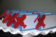 Airplane Food Labels Place Cards Airplane Party by GiggleBees, $12.00