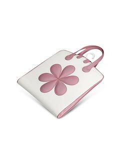 Pineider+Pink+Flower+Baby+Garment+Bag+