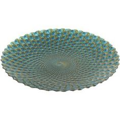 Pier one peacock serving platter