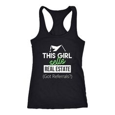 be90cd64 Real estate tank top. Real Estate Agent Tank Top. Real Estate Agent T-Shirt.  Realtor gift