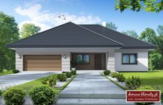 Best Modern House Design, Simple House Design, My House Plans, Craftsman House Plans, Beautiful House Plans, Beautiful Homes, Affordable House Plans, Residential Architecture, Home Fashion