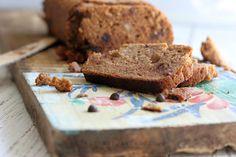 Almond Flour Pumpkin & Chocolate Chip Loaf
