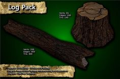 Log Pack has just been added to GameDev Market! Check it out: http://ift.tt/1Z18RNz #gamedev #indiedev