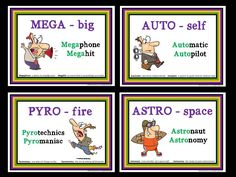 PREFIX PRACTICE FOR UPPER GRADES Visually-pleasing activities and super-easy bulletin board displays make learning and reviewing prefixes interesting for middle/secondary students. The 25 prefixes included in this set are: anti, aqua, astro, auto, bi, dis, frag, geo, hyper, imag, mal, mega, mid, mis, over,pre, pyro, quad, tele, trans, tri, re, super, un, uni $