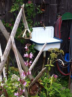 Gartenwaschbecken