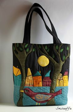 The belted buckle handles add a nice touch Very Kool Quilt Purse aus den Bildern v. Love this purse idea look at the window panes on this, art! Patchwork Bags, Quilted Bag, Patchwork Patterns, Handmade Handbags, Handmade Bags, Art Bag, Denim Bag, Purse Patterns, Fabric Bags