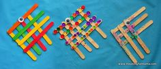 Popsicle Stick Angel Fish!  Put a magnet on the back? Would be good to use on Day 4 -- can talk about placement of the fish's eye and use that as a segue for discussion about Jesus and the blind man.