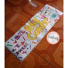 felicidades te amamos , pancarta de medio pliego estilo banner. Riquisima torta de @canela.pzo . . #pancartas #rotafolios #cumpleaños #amiga #amistad #hb #19 #cakes #torta #colores #work #poz #pzo Ideas Para Fiestas, Diy Birthday, Birthday Decorations, Boyfriend Gifts, Diy Gifts, Bff, Diy And Crafts, Kawaii, Scrapbook